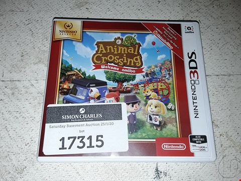 Lot 17315 ANIMAL CROSSING: NEW LEAF - WELCOME AMIIBO FOR NINTENDO SWITCH