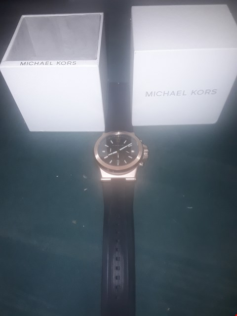 Lot 1020 MICHAEL KORS DYLAN ROSE GOLD STAINLESS STEEL WATCH RRP £329