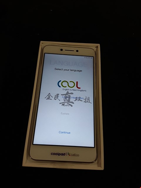 Lot 1050 BOXED COOL 1 DUAL COOLPAD LEECO MOBILE PHONE