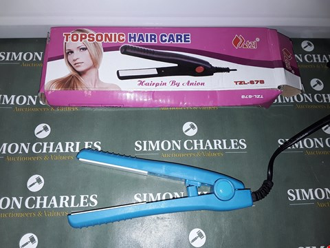 Lot 9103 BOXED DESIGNER TOPSONIC HAIR CARE HAIRPIN BY ANION
