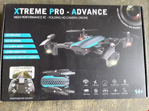 Lot 7406 XTREME PRO ADVANCED FOLDABLE DRONE