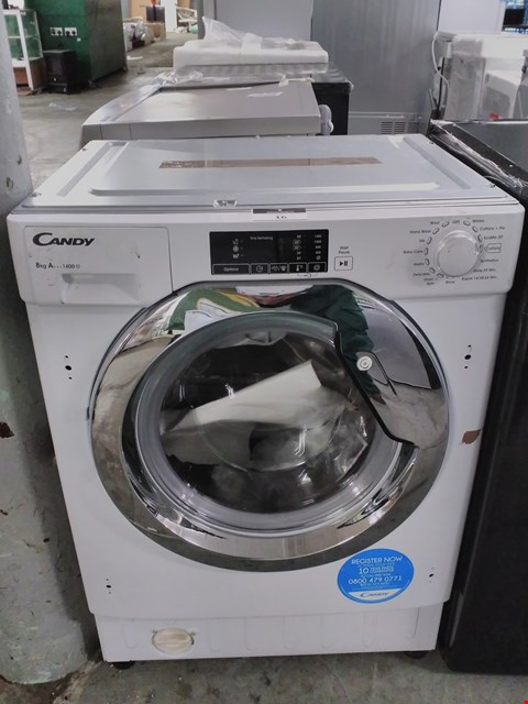 Lot 16 CANDY CBWM814DC-80 8KG 1400 SPIN WASHING MACHINE - WHITE