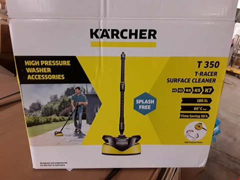 Lot 367 KARCHER T350 T-RACER SURFACE CLEANER RRP £51
