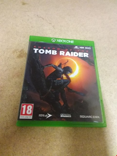 Lot 8241 SHADOW OF THE TOMB RAIDER XBOX ONE GAME