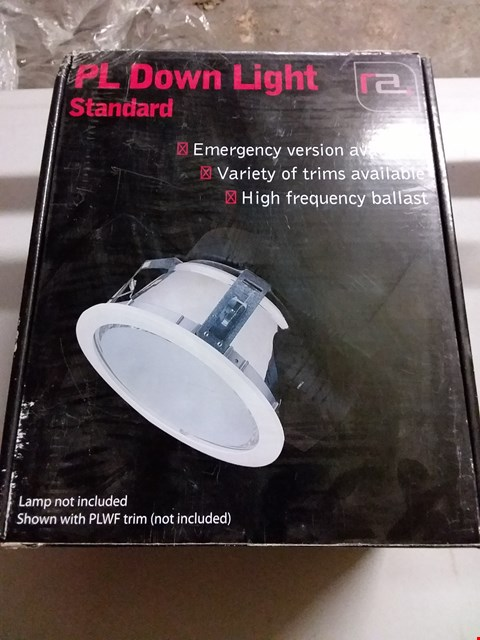 Lot 1010 BOXED RA STANDARD PL DOWN LIGHT FITTING