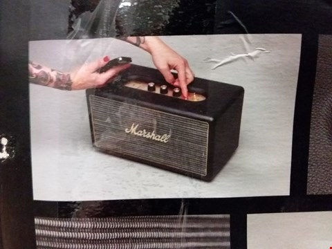 Lot 366 BOXED MARSHALL STANMORE BLUETOOTH SPEAKER (LOT 3)